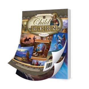 Bitesize Book of A Child is Born 72 Pages A6 Hunkydory Card Toppers