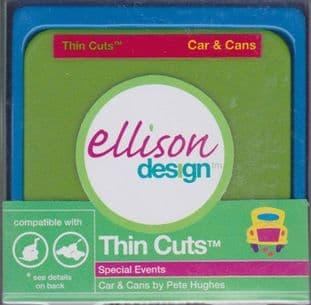 CAR & CANS ELLISON THIN CUTS DIE