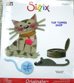 CAT & CAT TOYS LARGE RED DIE