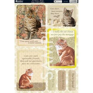 CATS Cat Verses Taupe TOPPERS KANBAN 1624