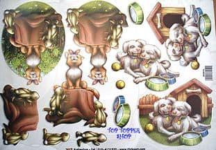CATS & DOGS TBZ DECOUPAGE SHEET 071
