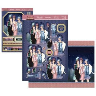 Celebrate with Friends - The Golden Age of Glamour Hunkydory Die Cut Decoupage Kit