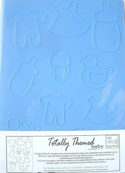 COLOUR MY WORLD TOTALLY THEMED TEMPLATE - BABY