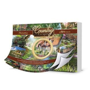 Country Escapes A6 Mirri Magic Pad 36 Hunkydory Card Toppers