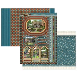 Country Escapes Cottage Garden Luxury Topper Set