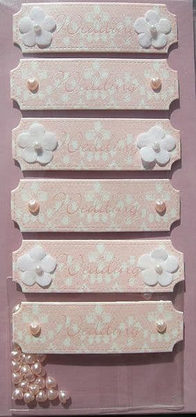 CRAFTY BITZ WEDDING EMBELLISHMENTS w42