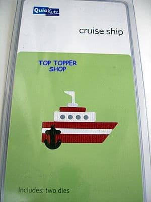 CRUISE SHIP QUICKUTZ DOUBLEKUTZ DIE KS-0551