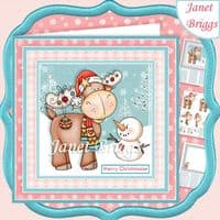 Cute Xmas Card Kit Downloads