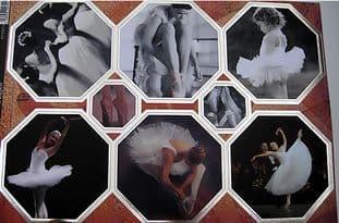 DANCE KANBAN DIE CUT CARD TOPPERS - BALLET 9074