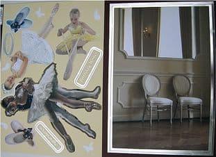 DANCE KANBAN DIE CUT CARD TOPPERS - PRIMA BALLERINA 9046