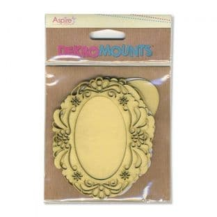 Dekromounts Oval Ornate Frames