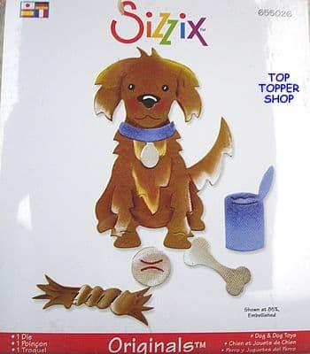 DOG &  DOG TOYS LARGE RED DIE £1 p&p