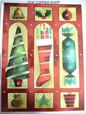 DUFEX CHRISTMAS FAVOURITES FOIL PRINT 142531
