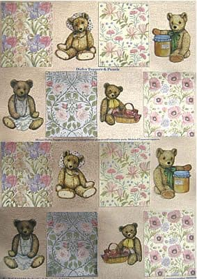 DUFEX DIE CUT TOPPERS & BORDERS - BEARS
