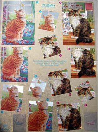 Dufex Pyramex Decoupage Sheet Cats 730