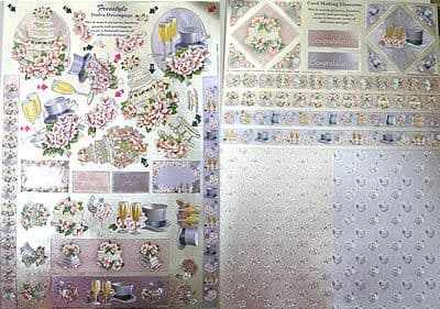 DUFEX WEDDING FREESTYLE & CARD MAKING ELEMENTS SHEETS