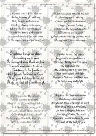 Easy Peely Transparent Verses Christmas 1