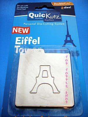 EIFFEL TOWER QUICKUTZ DOUBLEKUTZ DIE