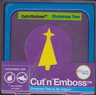ELLISON CUT N EMBOSS DIE CHRISTMAS TREE