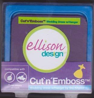 ELLISON CUT N EMBOSS DIE WEDDING DRESS