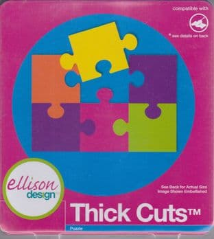 ELLISON THICK CUTS PUZZLE CUTTING DIE
