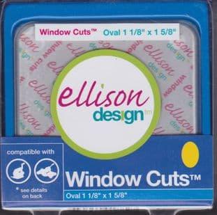 ELLISON WINDOW CUTS OVAL