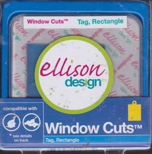 ELLISON WINDOW CUTS TAG RECTANGLE