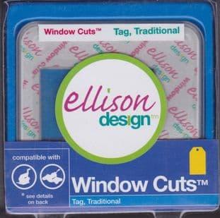 ELLISON WINDOW CUTS TAG TRADITIONAL