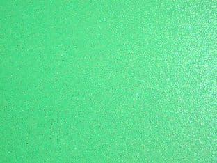 EMERALD GREEN TEXTURED IRIDESCENT GLITTER CARD
