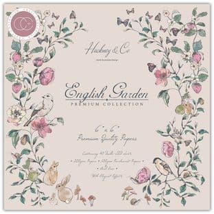 """English Garden 6""""x6"""" Premium Paper Pad Craft Consortium"""