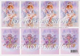 FAERIE POPPETS TOPPER SHEET Jalekro 99011/4