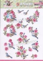 Floral Decoupage Sheets