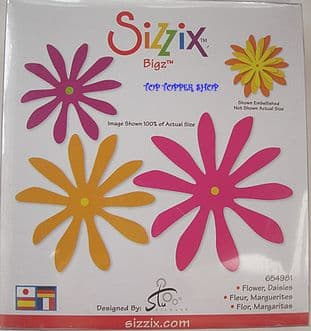 FLOWER, DAISIES BIGZ DIE 654981