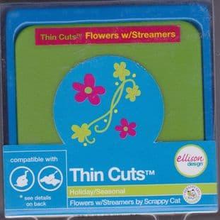 FLOWERS & STREAMERS ELLISON THIN CUTS DIE