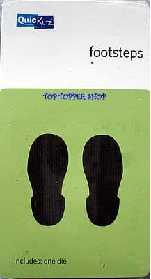 FOOTSTEPS QUICKUTZ SINGLEKUTZ DIE RS-0689