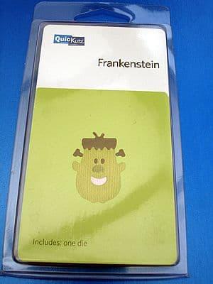 FRANKENSTEIN, HALLOWEEN QUICKUTZ SINGLEKUTZ DIE RS-0470