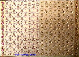 FREESTYLE DUFEX BACKING PAPER TEDDIES