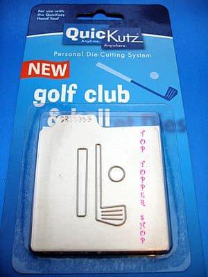 GOLF CLUB & BALL QUICKUTZ SINGLEKUTZ DIE RS-0368
