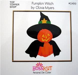 HALLOWEEN BOSS KUT DIE - PUMPKIN WITCH