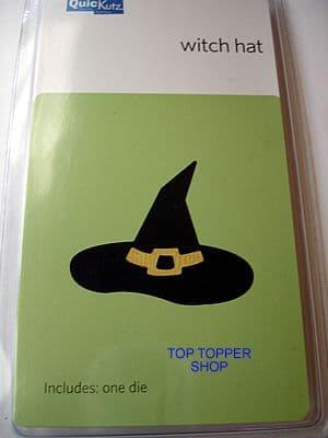 HALLOWEEN, WITCH HAT, BENT QUICKUTZ SINGLEKUTZ DIE RS-0081