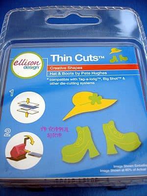 HAT & BOOTS ELLISON THIN CUTS DIE
