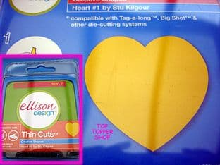 HEART #1 ELLISON THIN CUTS DIE