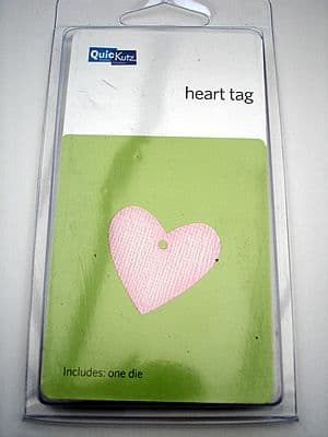 HEART TAG QUICKUTZ SINGLEKUTZ DIE RS-0449