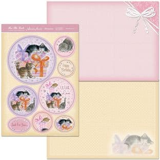 Hunkydory Adorable Scorable Girls Collection KITTY SURPRISE