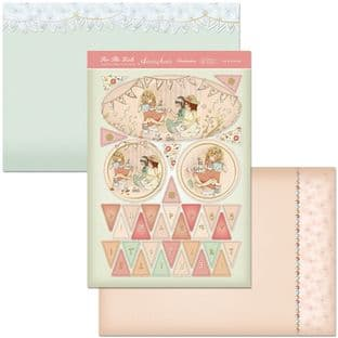 Hunkydory Adorable Scorable Girls Collection TEA & BUNTING