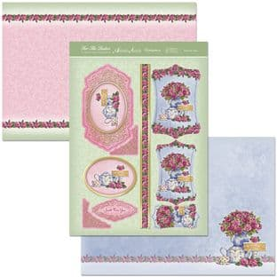 Hunkydory Adorable Scorable Ladies Collection TIME FOR TEA