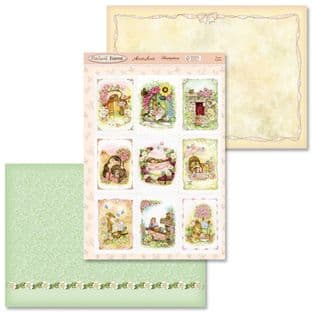 Hunkydory Adorable Scorable PATCHWORK FOREST SCENES