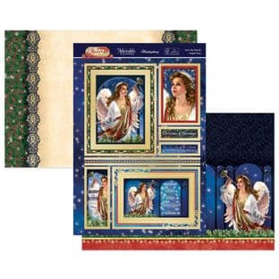 Hunkydory Christmas Classics  Luxury Card Toppers - Hark The Herald Angels
