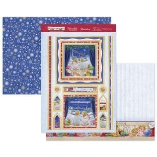Hunkydory Christmas Festive Memories Luxury Card Topper Kit - Waiting For Santa
