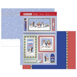 Hunkydory Christmas Santa & Friends Luxury Card Topper Kit - Snow Much Fun